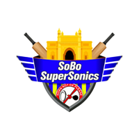 SOBO SuperSonics Cricket Logo