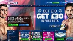 betfred homepage screenshot