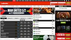 ladbrokes homepage screenshot
