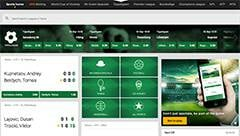 mr green sports betting screenshot