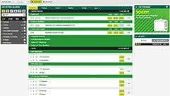 paddy power live betting screenshot